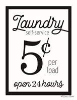Laundry 5 Cents Fine-Art Print