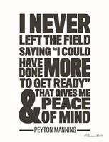 Peyton Manning Quote Fine-Art Print