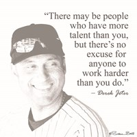 Baseball Greats - Derek Jeter Fine-Art Print