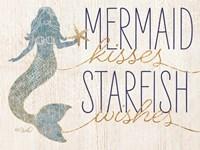 Mermaid Kisses Starfish Wishes Fine-Art Print