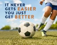 Soccer - It Never Gets Easier Fine-Art Print
