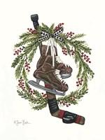 Vintage Hockey Set Fine-Art Print