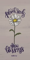 Plant Seeds Fine-Art Print