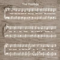 The Doxology Sheet Music Fine-Art Print