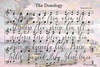 The Doxology Lyrics Fine-Art Print