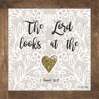 The Lord Looks at the Heart Fine-Art Print