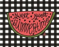 Sweet Summertime Watermelon Fine-Art Print