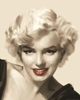 The Look Red Lips II Fine-Art Print