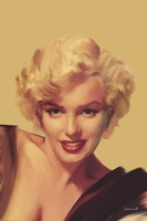 The Look in Gold Fine-Art Print