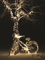 Snowy Bicycle Fine-Art Print
