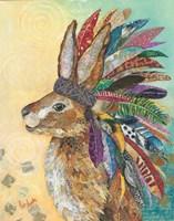 Tribal Rabbit Fine-Art Print