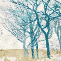 Turquoise Trees II Fine-Art Print