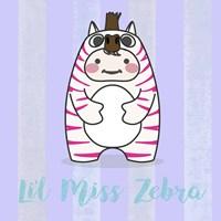 Li'l Zebra Fine-Art Print
