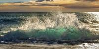 Wave Crashing on the Beach, Kauai Island, Hawaii (detail) Fine-Art Print