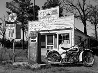 Abandoned Gas Station, New Mexico Fine-Art Print