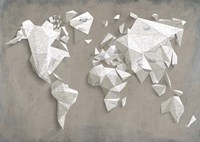 A Different World (Taupe) Fine-Art Print