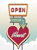Open Your Heart Fine-Art Print