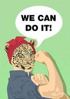 She Can Do It! Fine-Art Print