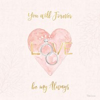 All You Need is Love XI Pink Fine-Art Print