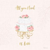 All You Need is Love IX Pink Fine-Art Print