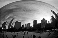 The Bean Chicago BW Fine-Art Print