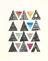 Triangles with Border Fine-Art Print
