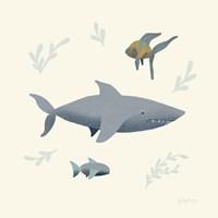 Ocean Life Shark Fine-Art Print