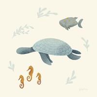 Ocean Life Sea Turtle Fine-Art Print