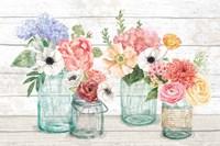 Pastel Flower Market I Fine-Art Print