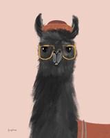 Delightful Alpacas IV Fine-Art Print