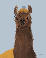 Delightful Alpacas III Fine-Art Print