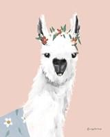 Delightful Alpacas I Fine-Art Print