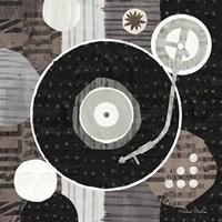 Rock N Roll Album Neutral Fine-Art Print