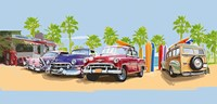 50s Surf Cars I Fine-Art Print