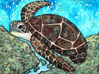Swimming Along Fine-Art Print