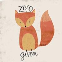 Zero Fox Fine-Art Print