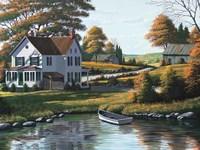 Along the Riverbank Fine-Art Print