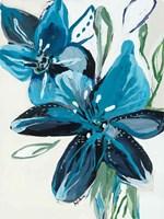Flowers of Azure II Fine-Art Print