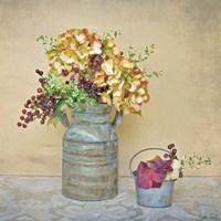 Caramel Hydrangeas Fine-Art Print