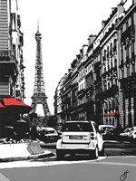 Paris II - Black Fine-Art Print