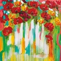 Poppies Glowing Fine-Art Print