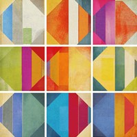 Pattern Tiles II Fine-Art Print