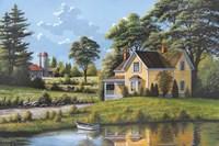 Yellow House Fine-Art Print