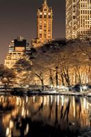 Central Park Glow II Fine-Art Print