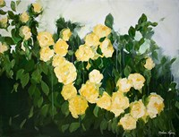 Yellow Rose Bush Fine-Art Print