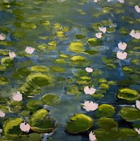 Lily Pads II Fine-Art Print