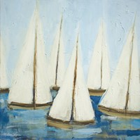 Sailboats Fine-Art Print