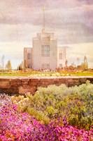Twin Falls Temple II Fine-Art Print