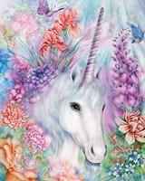 Floral Unicorn Fine-Art Print