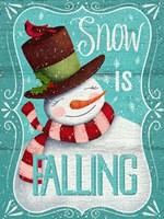 Snow is Falling Fine-Art Print